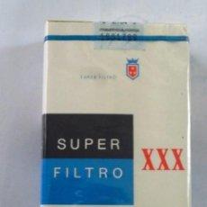 Paquetes de tabaco: PAQUETE DE TABACO XXX REX SUPER FILTRO CIGARRILLOS . Lote 102510210