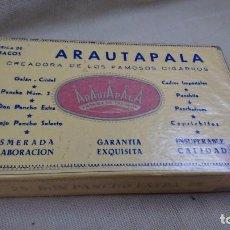 Paquetes de tabaco: ANTIGUA CAJA DE PUROS ARAUTAPALA 25 DON PANCHO EXTRA. Lote 80670146