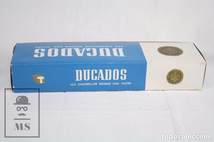 Paquetes de tabaco: Cartón de Tabaco con 10 Cajetillas Blandas de Cigarrillos Ducados Negros con Filtro - Tabacalera SA - Foto 3 - 109773230