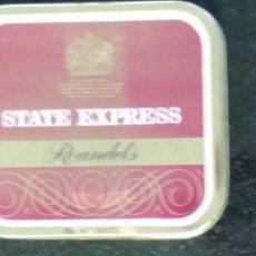 Paquetes de tabaco: LATA DE TABACO STATE EXPRESS. Lote 84414288