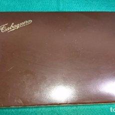 Paquetes de tabaco: CAJA TABAQUERA CIGARRERA PURERA - CAJA DE AHORROS Y MONUMENTOS TEXTO DE PIEDAD DE SEGOVIA. Lote 85773140