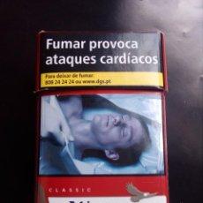 Paquetes de tabaco: PAQUETE DE TABACO WISTON,VACIO. Lote 87033036