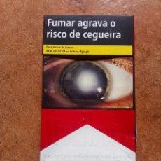 Paquetes de tabaco: PAQUETE DE TABACO MARLBORO,VACIO. Lote 87045832