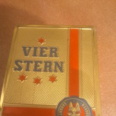 Paquetes de tabaco: ANTIGUA CAJA DE CIGARROS METALICA VIER STERN SUMATRA. Lote 87099220