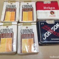Zigarettenschachteln - TABACO. 6 PAQUETES DE TABACO ANTIGUOS. - 87501775