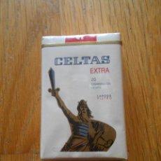 Paquetes de tabaco: PAQUETE TABACO CELTAS EXTRA LARGOS FILTRO. Lote 89488016