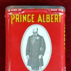 Paquetes de tabaco: CAJA DE TABACO DE LIAR EN HOJALATA. PRINCE ALBERT. INGLATERRA. SIGLO XX.. Lote 90538190