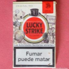 Paquetes de tabaco: LUCKY STRIKE - EDICION ESPECIAL - VINTAGE - PAQUETE DE TABACO VACÍO. Lote 92022370