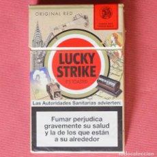 Paquetes de tabaco: LUCKY STRIKE - EDICION ESPECIAL - VINTAGE - PAQUETE DE TABACO VACÍO. Lote 92022595