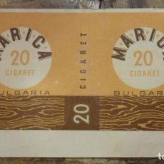 Paquetes de tabaco: PAQUETE TABACO , MARICA, BULGARIA, RARO. Lote 93282535