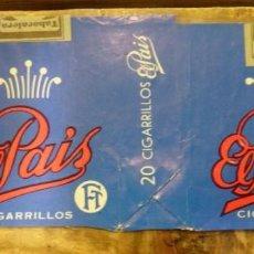 Paquetes de tabaco: PAQUETE DE TABACO VACÍO - EL PAIS - LAS PALMAS. Lote 93287830