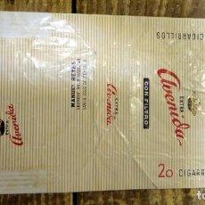 Paquetes de tabaco: PAQUETE DE TABACO VACÍO - AVENIDA SUPER LARGOS. Lote 93328400