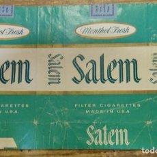 Paquetes de tabaco: PAQUETE DE TABACO VACÍO - SALEM. Lote 93328945