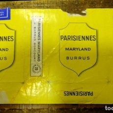 Paquetes de tabaco: CAJETILLA DE CIGARRILLOS. PARISIENNES. MARYLAND. Lote 93341110