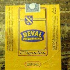 Paquetes de tabaco: CAJETILLA DE CIGARRILLOS. REVAL. Lote 93341300