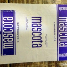 Paquetes de tabaco: CAJETILLA DE CIGARRILLOS.MASCOTA, SUC. DIEGO MORENO, TENERIFE. Lote 93346855