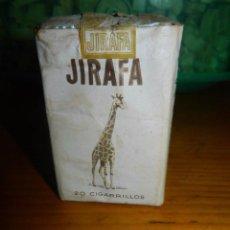 Paquetes de tabaco: ANTIGUO PAQUETE DE TABACO JIRAFA. DIFICIL!!!!!. Lote 95096911