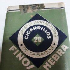 Paquetes de tabaco: PAQUETE ANTIGUO DE TABACO COMPAÑÍA ARRENDATARIA DE TABACOS AÑOS 50 RARO. Lote 96103475