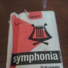 Paquetes de tabaco: PAQUETE ABIERTO SYMPHONIA. TABACO. Lote 96209951