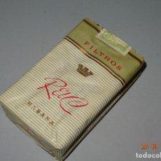 Pacchetti di tabaco: ANTIGUO PAQUETE DE TABACO CIGARRILLOS * R EL C * FABRICADO EN CUBA. Lote 96443251