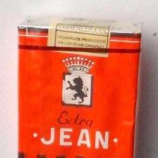Paquetes de tabaco: ORIGINAL CAJETILLA, PAQUETE TABACO JEAN, SIN ABRIR. Lote 125129706