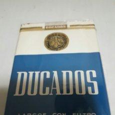 Paquetes de tabaco: PAQUETE ANTIGUO DE TABACO DUCADOS SIN ABRIR. Lote 126294020