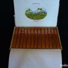 Paquetes de tabaco: CAJA COMPLETA HABANOS J.CANO 25 PETIT CORONAS. Lote 97033743