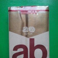 Paquetes de tabaco: AB PAQUETE DE TABACO PRECINTADO POLONIA AÑOS '70. Lote 97825871