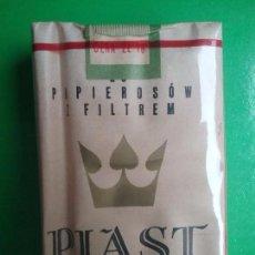 Paquetes de tabaco: PIAST PAQUETE DE TABACO PRECINTADO POLONIA AÑOS '70. Lote 97825923