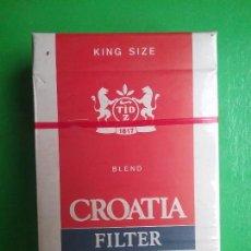 Paquetes de tabaco: CROATIA TABACO PAQUETE PRECINTADO CROACIA ZAGREB. Lote 97826571
