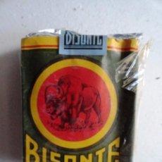 Paquetes de tabaco: PAQUETE CIGARRILLOS BISONTE TABACALERA TABACO. Lote 97866635