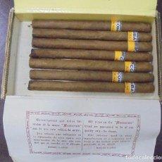 Paquetes de tabaco: CAJA CON 7 LANZEROS DE COHIBA. AÑO 2000. VER. Lote 97909315