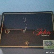 Paquetes de tabaco: CAJA TABACO PURO PUROS FETEN 25 GRANDES NUEVO SIN ABRIR. Lote 98821747