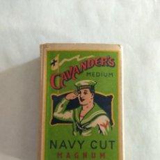 Paquetes de tabaco: PRECIOSO CAVANDER'S NAVY CUT MÉDIUM, SIN ABRIR.. Lote 98951763