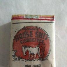 Paquetes de tabaco: *RAREZA* TABACO HORSE SHIT, PRECINTADO, TIJUANA AÑOS 50. Lote 98952847