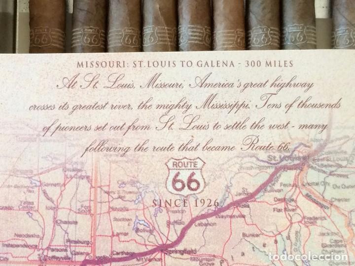 Paquetes de tabaco: LATA AGIO CIGARS HOLLAND, ROUTE 66, 1997. CON 9 CIGARROS - Foto 3 - 204192658