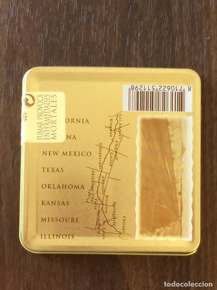 Paquetes de tabaco: LATA AGIO CIGARS HOLLAND, ROUTE 66, 1997. CON 9 CIGARROS - Foto 4 - 204192658