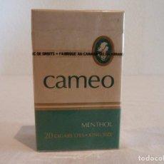 Paquetes de tabaco: PAQUETE DE TABACO CAMEO FABRICADO EN CANADÁ - SIN ABRIR. Lote 102638327