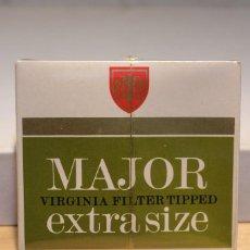 Paquetes de tabaco: CAJETILLA DE MAJOR EXTRA SIZE PRECINTADA. Lote 103477695
