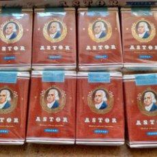 Paquetes de tabaco: OCHO CAJETILLAS WALDORF ASTORIA ASTOR EN CAJA ORIGINAL. Lote 105655170