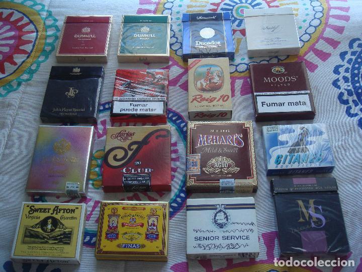 LOTE CAJETILLAS DE TABACO (Coleccionismo - Objetos para Fumar - Paquetes de tabaco)