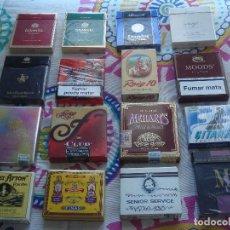 Paquetes de tabaco: LOTE CAJETILLAS DE TABACO. Lote 105671351