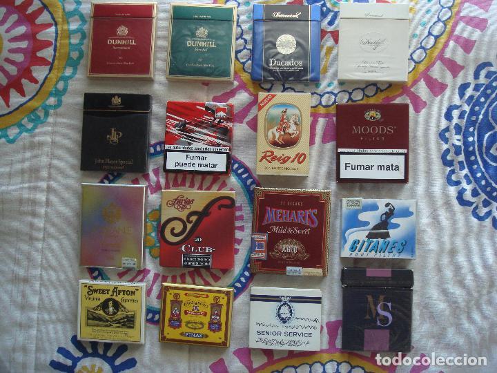 Paquetes de tabaco: Lote cajetillas de tabaco - Foto 2 - 105671351