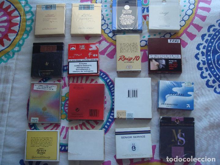 Paquetes de tabaco: Lote cajetillas de tabaco - Foto 3 - 105671351