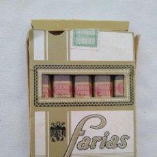 Paquetes de tabaco: FARIAS EXTRA. Lote 105786959