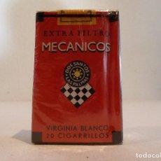 Paquetes de tabaco: PAQUETE DE TABACO MECANICOS ROJO - LAS PALMAS - SIN ABRIR. Lote 105844175