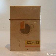 Paquetes de tabaco: ANTIGUO PAQUETE DE TABACO PAPASTRATOS - GRECIA - SIN ABRIR. Lote 105847259
