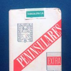 Paquetes de tabaco: ANTIGUO PAQUETE CAJETILLA TABACO PENINSULARES TABACALERA S.A. AÑOS 60 70. Lote 288305043
