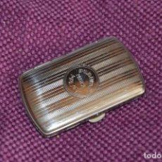 Paquetes de tabaco: VINTAGE - ANTIGUA CAJA CIGARRERA / PITILLERA DE PUBLICIDAD MÚSICA MÁLAGA EMILIO ENCINA - HAZ OFERTA. Lote 130159198