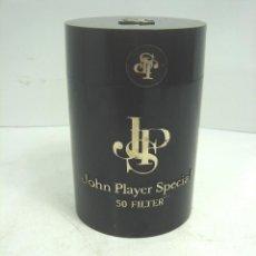 Paquetes de tabaco: CAJA BOTE TABACO - JPS JOHN PLAYER ESPECIAL-VACIA-PAQUETE CICARRILLOS CIGARROS PLASTICO LATA SPECIAL. Lote 107482479